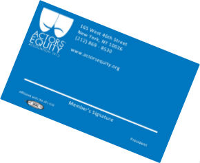 Blue Equity Membership Card