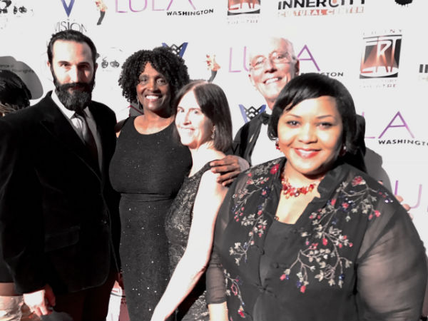 Equity Councilors and EEO Committee Members on the red carpet